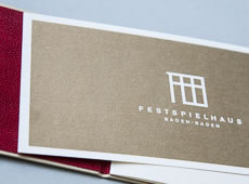 <strong>FESTSPIELHAUS BADEN-BADEN /</strong><br/ >Corporate Design