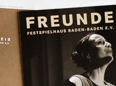 <strong>FESTSPIELHAUS BADEN-BADEN /</strong><br/ >Freundeskreis Newsletter
