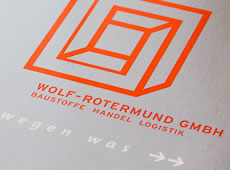 <strong>WOLF-ROTERMUND GMBH /</strong><br />Corporate Design