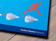 <strong>FRANKFURTER ALLGEMEINE, STELLENMARKT /</strong> <br/ > Buchgestaltung