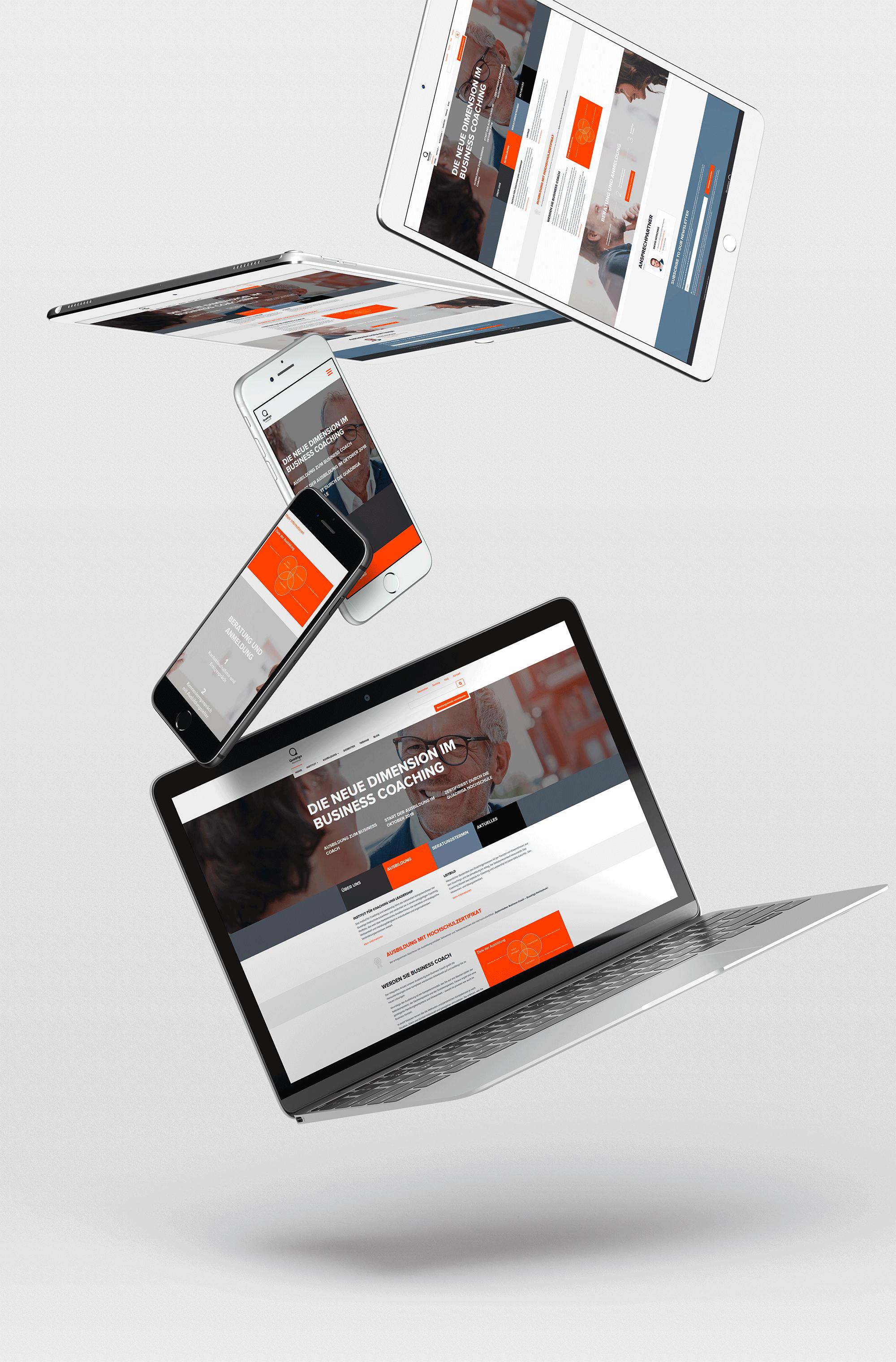 Responsive Websitegestaltung