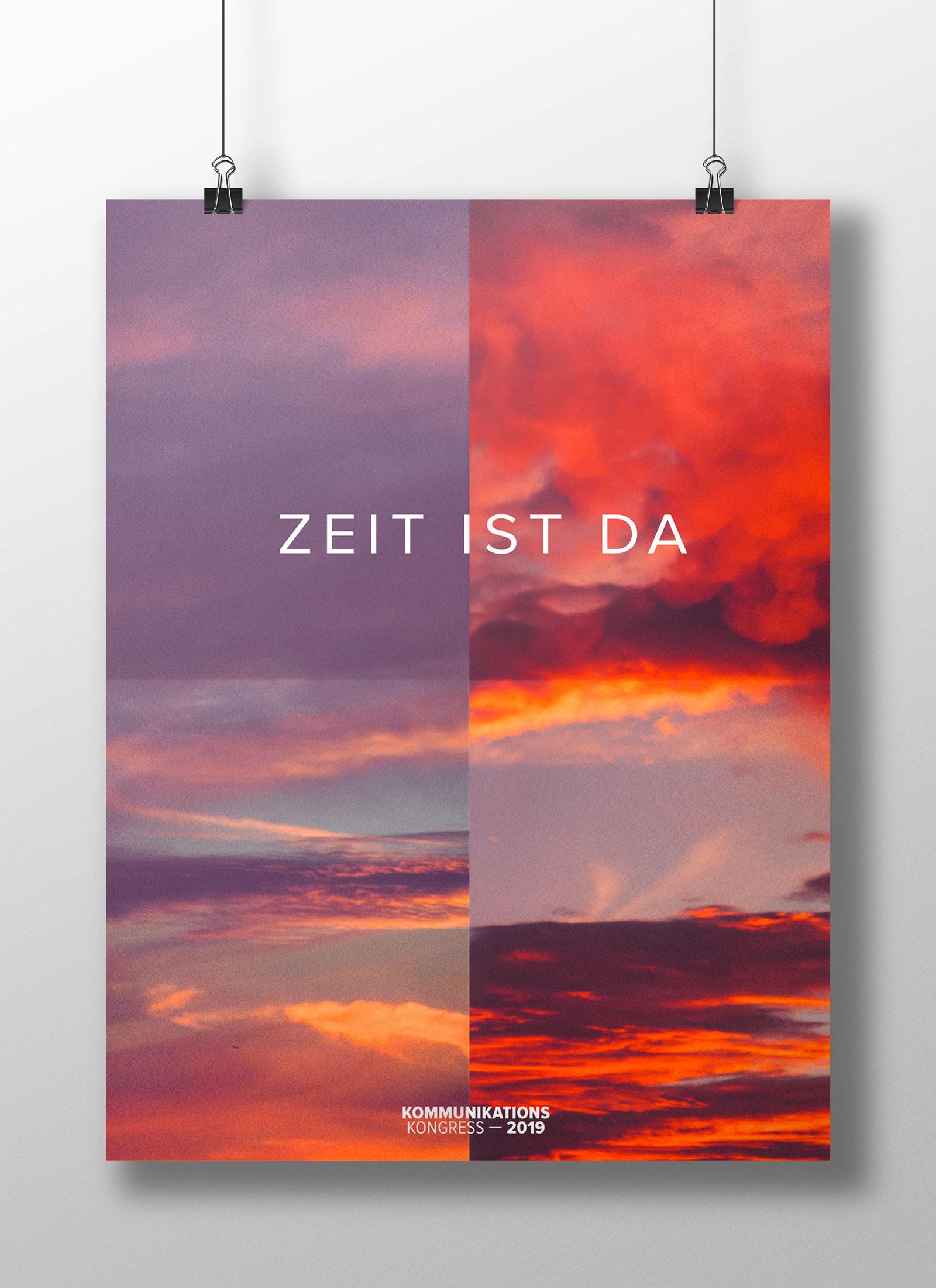 Gestaltung Programmeinleger, Poster
